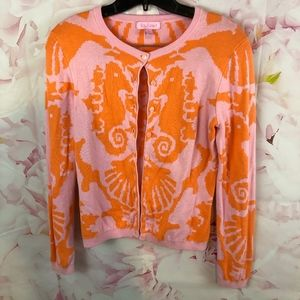 Lilly Pulitzer S Seahorse Cardigan